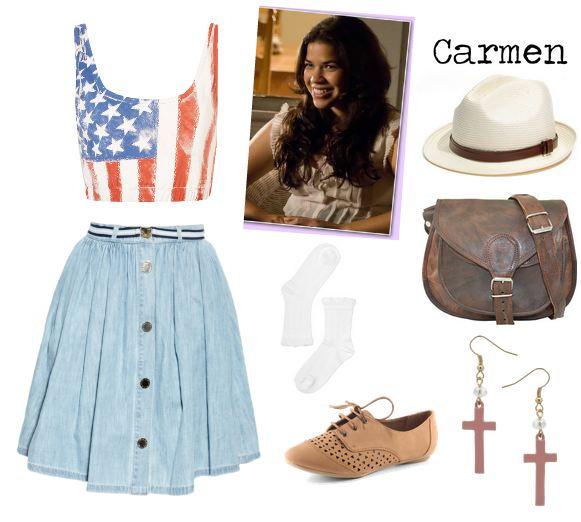 LooksFromBooks Carmen