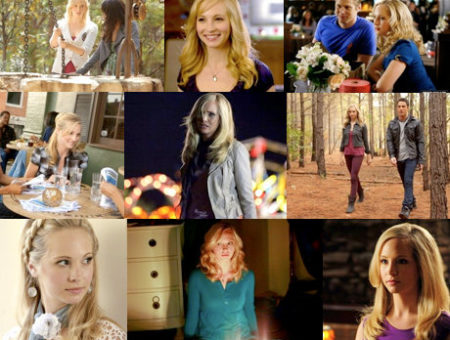 caroline forbes from vampire diaries