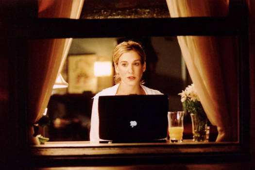 Carrie Bradshaw online shopping