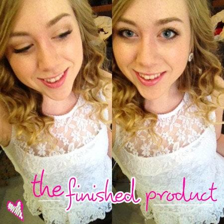 Carrie Diaries makeup & hair tutorial