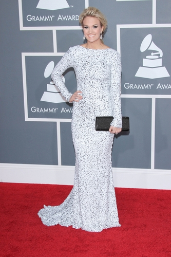 Carrie Underwood at the 54th Annual GRAMMY Awards