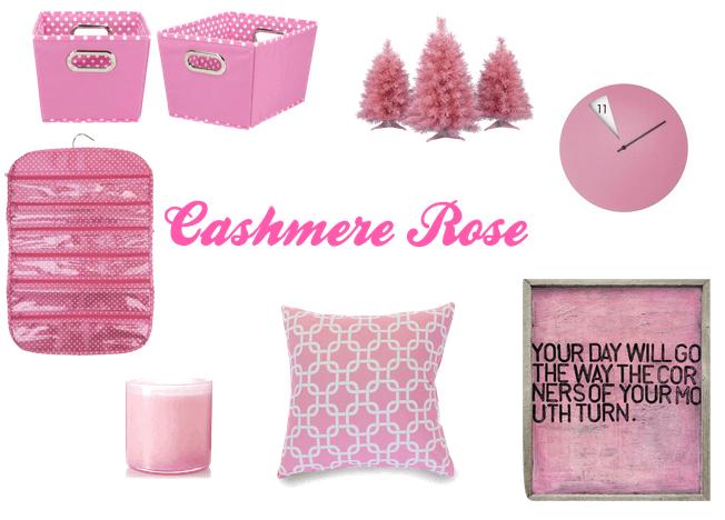Cashmere Rose  home decor