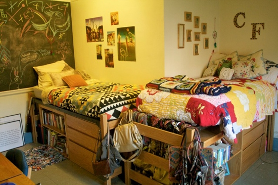 Cassidy and Ellie's Dorm at Duke