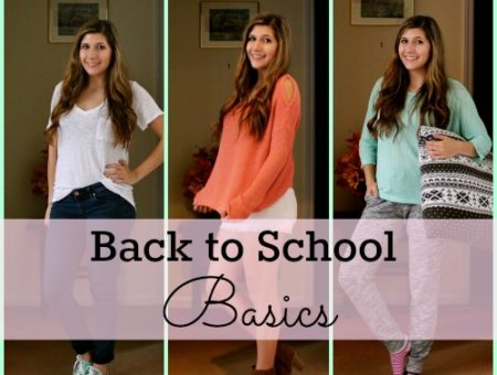 Casual and cute back to school outfits