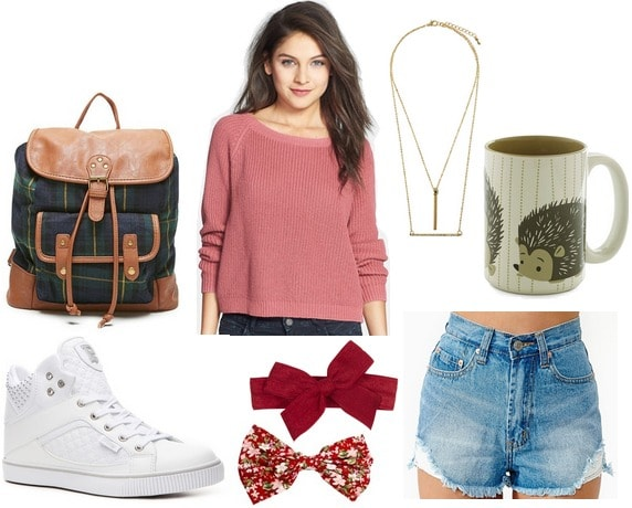 Casual and cute school outfit