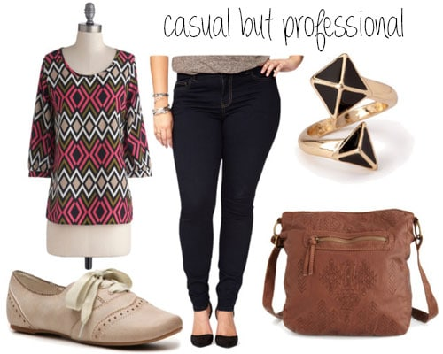 Casual but professional outfit set