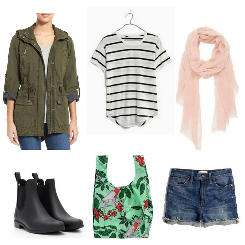 What to wear on a rainy day  Casual outfit for a warm rainy day with ecc55cd42