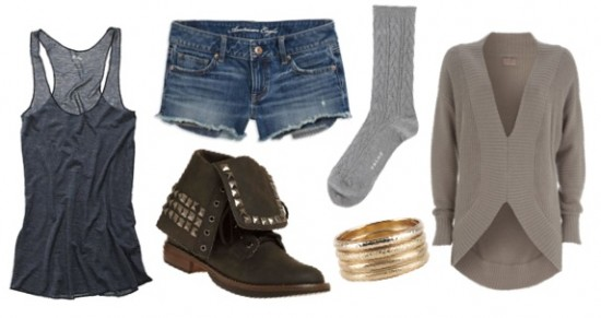 Casual Outfit with socks and boots