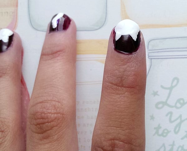 Cat ears nail tutorial