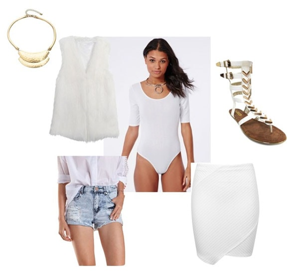 Catastrophe white outfit