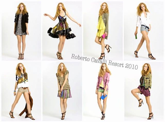 Roberto Cavalli Resort Collection 2010