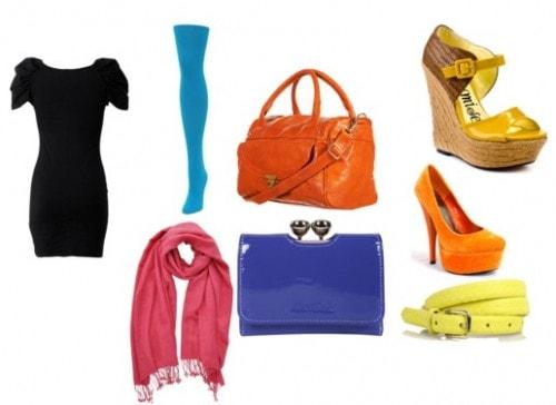 Colorful accessories