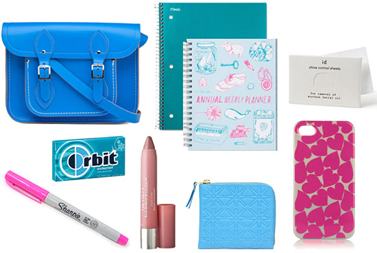 CF college handbag essentials