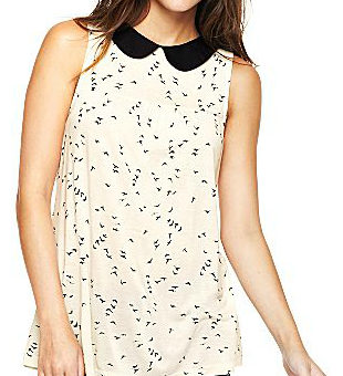 CF Fab Find JCPenney Peter Pan Collar Top