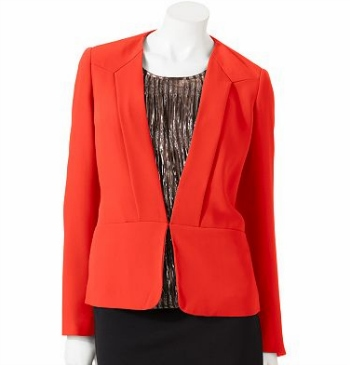 Cf fab find red tuxedo jacket