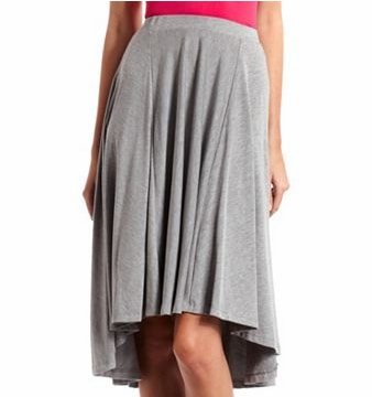 CF Fabulous Find Charlotte Russe High-Low Skirt
