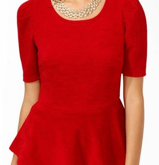 CF Fabulous Find Forever 21 Peplum Top