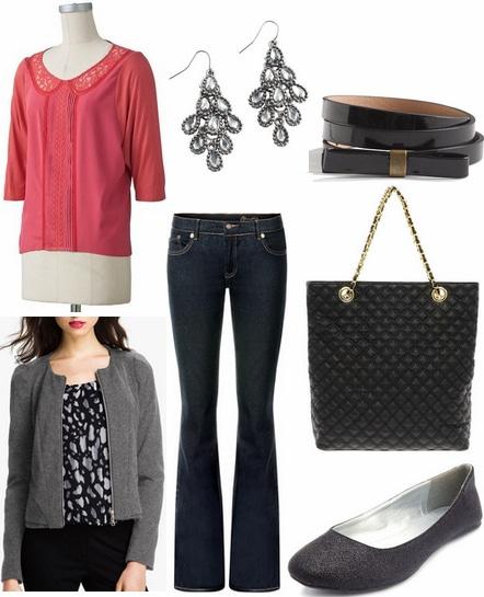 CF Fabulous Find LC Lauren Conrad Pink Blouse Outfit 1