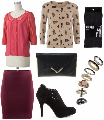 CF Fabulous Find LC Lauren Conrad Pink Blouse Outfit 2