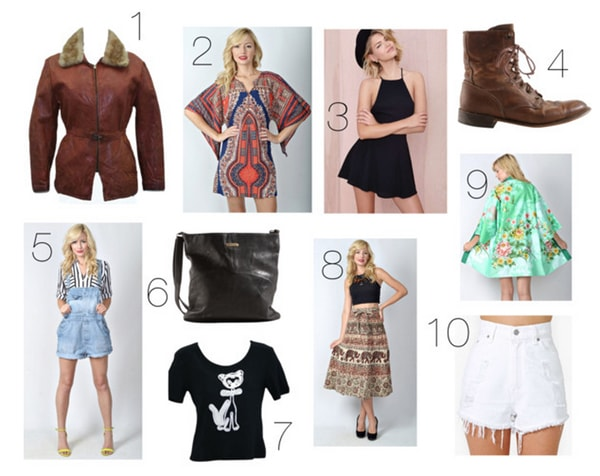 Vintage fashion finds