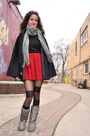 College fashionista from Michigan State University