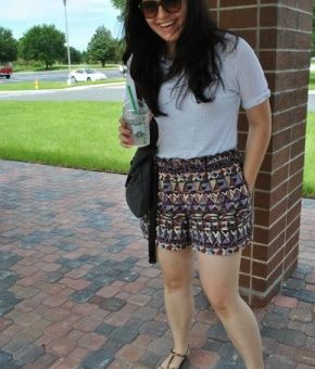 College fashionista at University of Central Florida