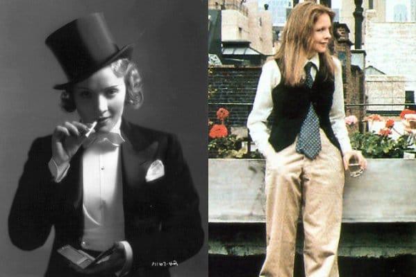 Menswear inspired style