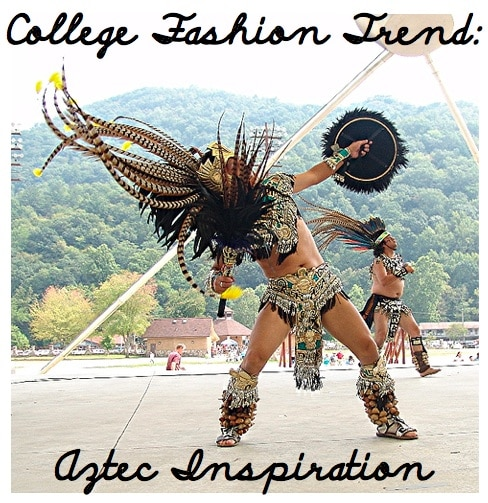 Aztec Inspired Fashion