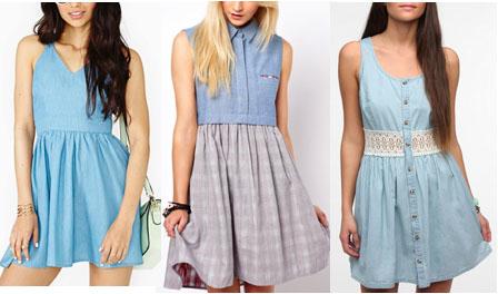 Chambray dresses