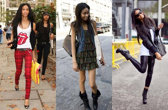 Chanel Iman fashion