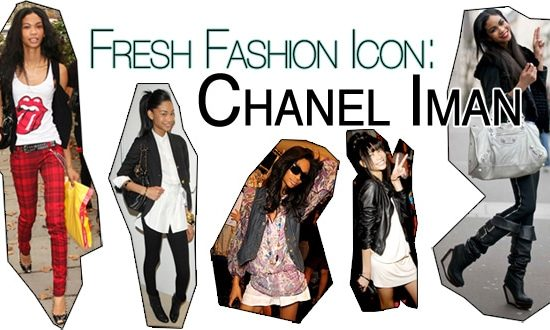Fashion icon Chanel Iman
