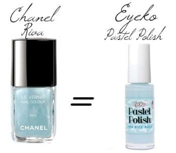 Chanel riva nail polish dupe