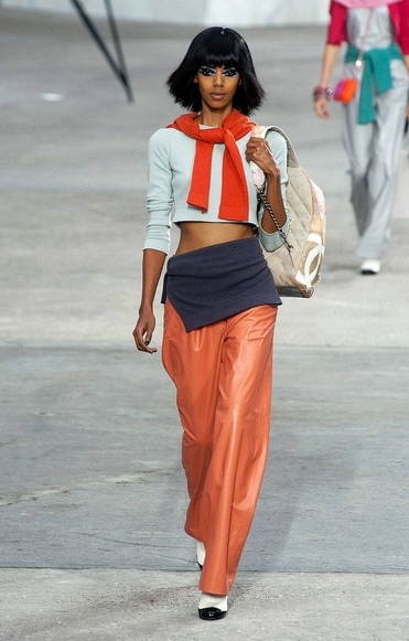Chanel spring 2014 rtw look 1