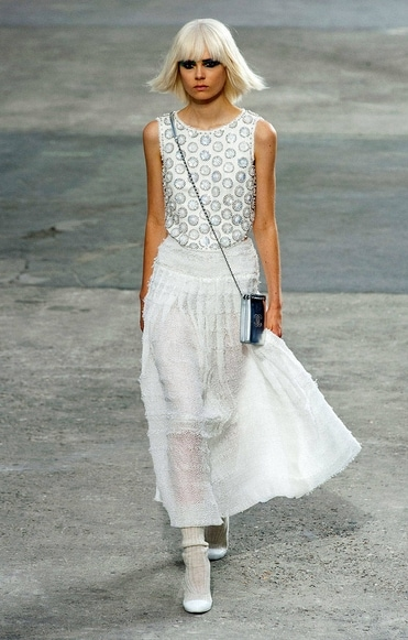 Chanel spring 2014 rtw look 2