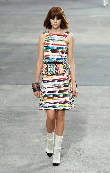 Chanel spring 2014 rtw look 3