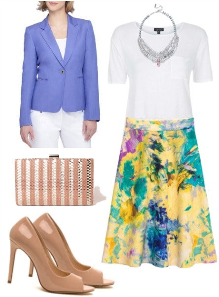 charlotte york skirt outfit