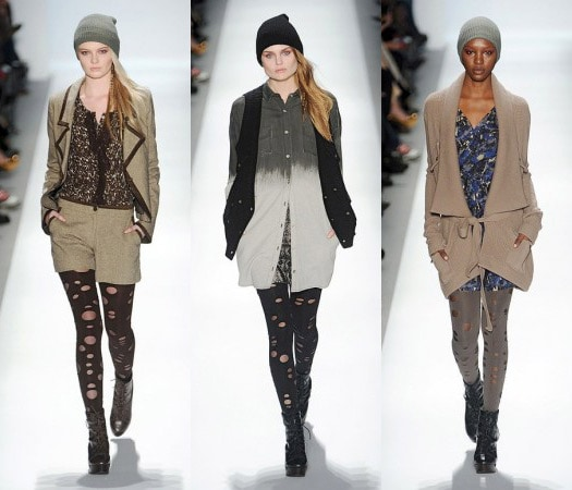Charlotte Ronson Fall 2011 runway looks