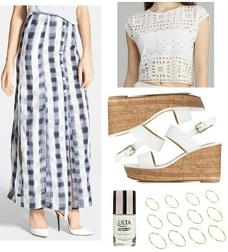 Charlotte Ronson spring 2014 outfit 1