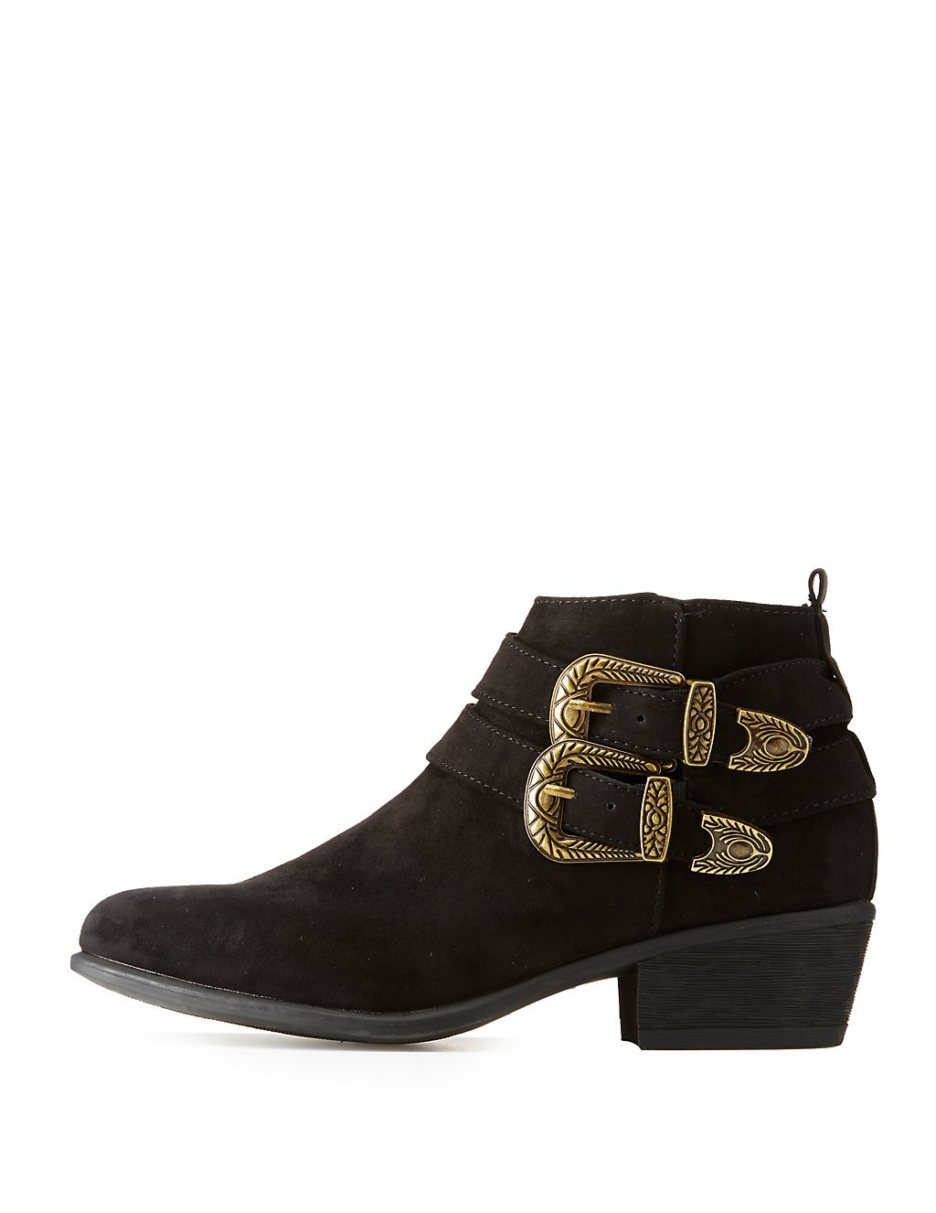 Charlotte Russe western ankle booties