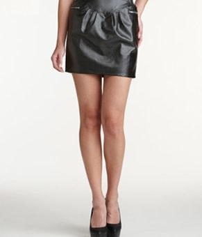 Charlotte Russe pleather skirt