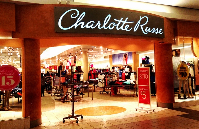 Charlotte Russe Retail Store