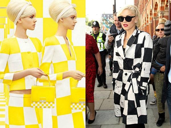 Checker print trend