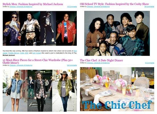 Chelsea articles
