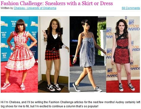 Chelsea fashion challenge
