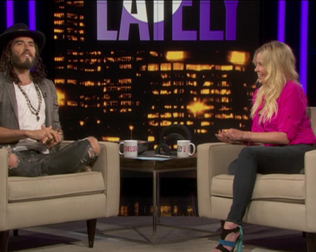 Chelsea Lately's Interview with Russell Brand Fashion