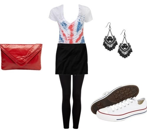 Another outfit inspired by Chelseas rocker style
