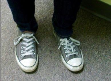 Chelsea's Converse Shoes