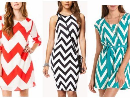 Chevron dresses