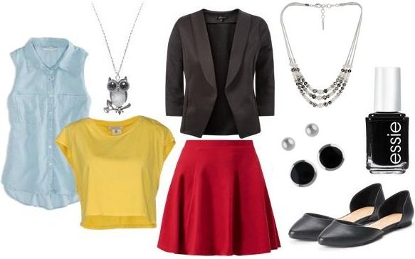 Chi Omega inspired outfit