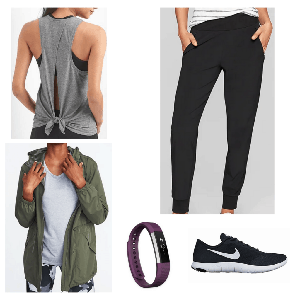 chic activewear outfit